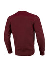 Crewneck Small Logo 2020  Burgundy - pitbullwestcoast
