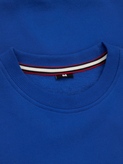 Crewneck Small Logo Royal Blue