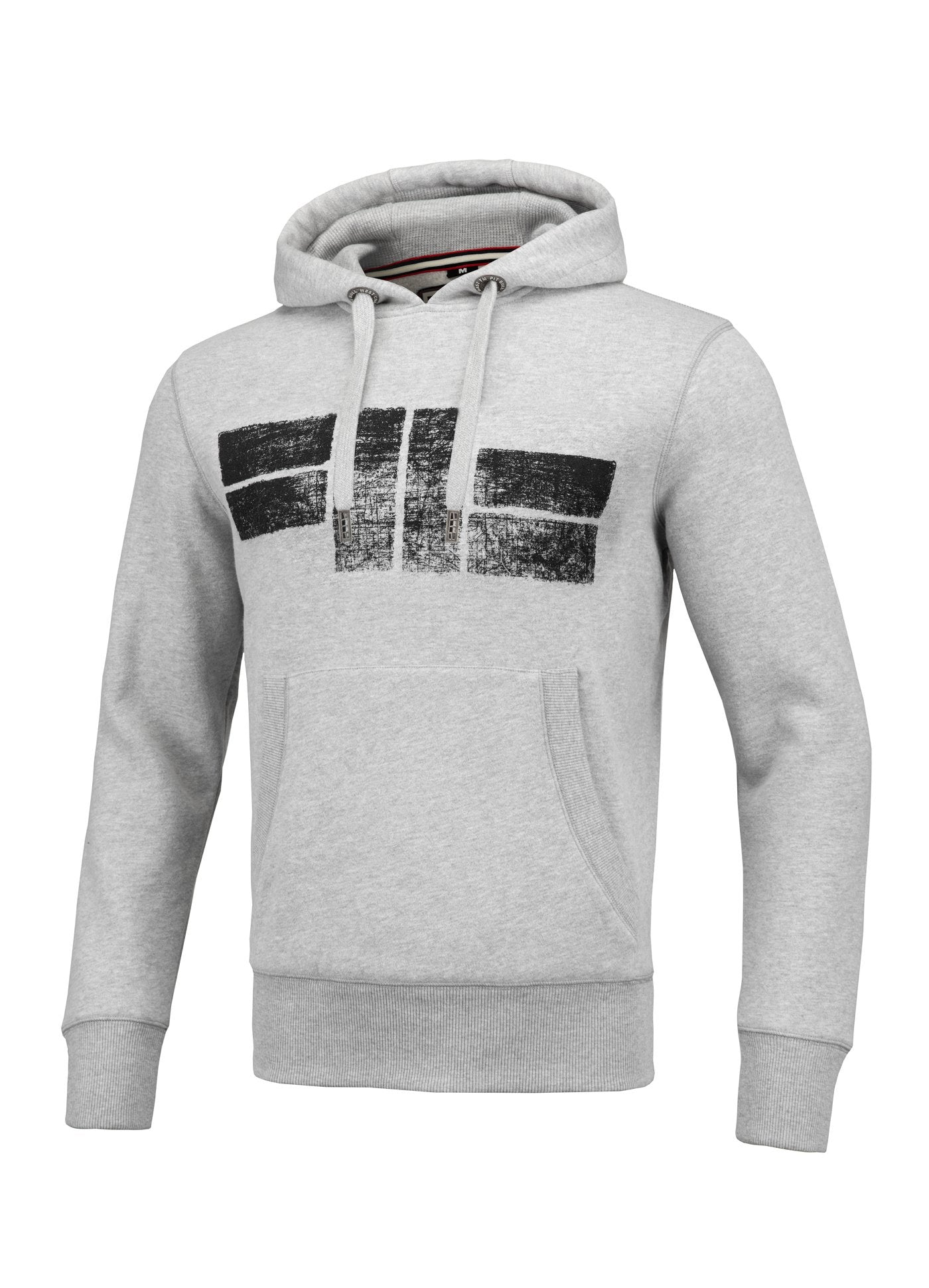 Classic Logo Hooded Grey - Pitbull West Coast  UK Store