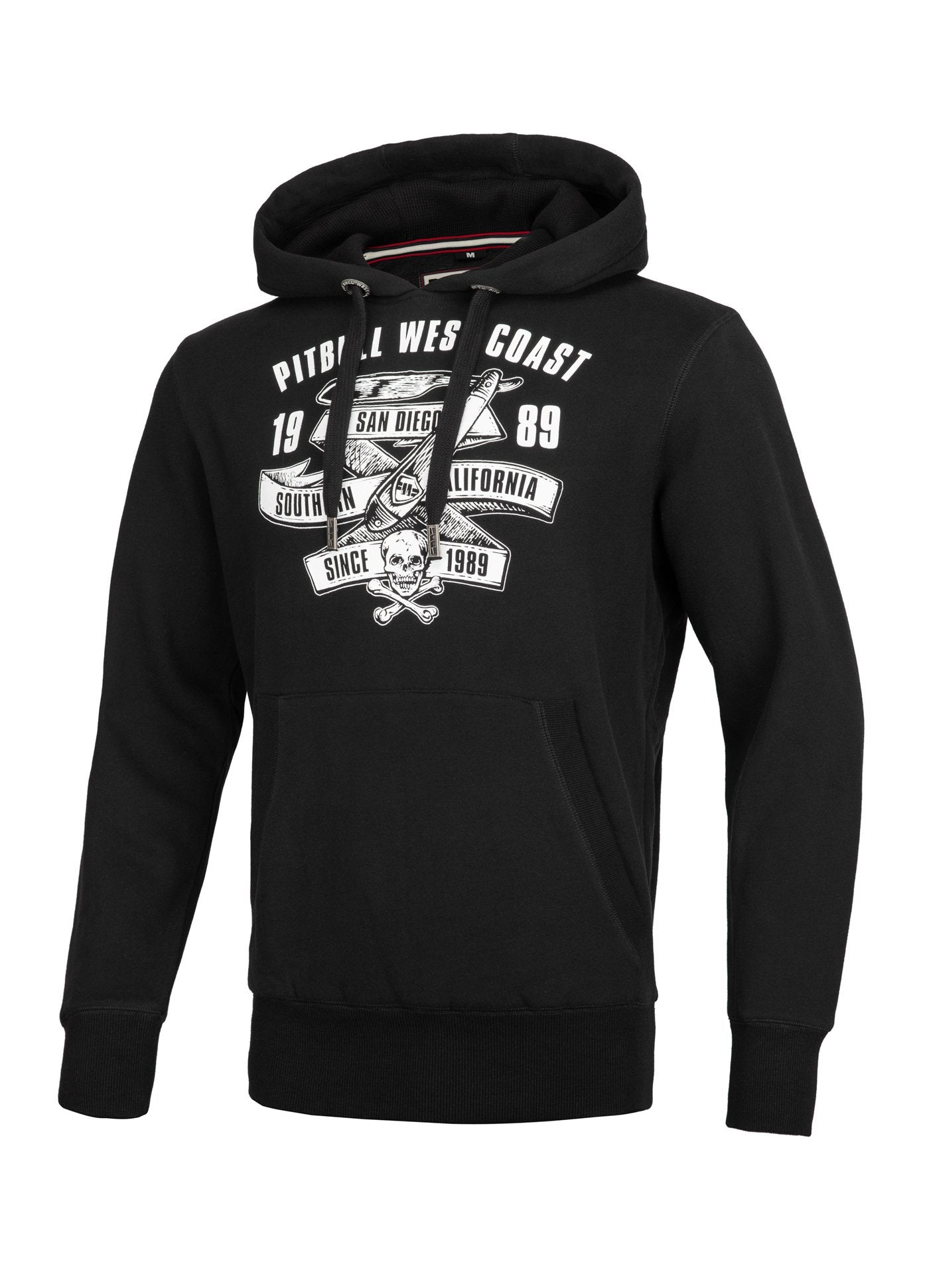 Hoodie OLDSCHOOL RAZOR Black - Pitbull West Coast  UK Store