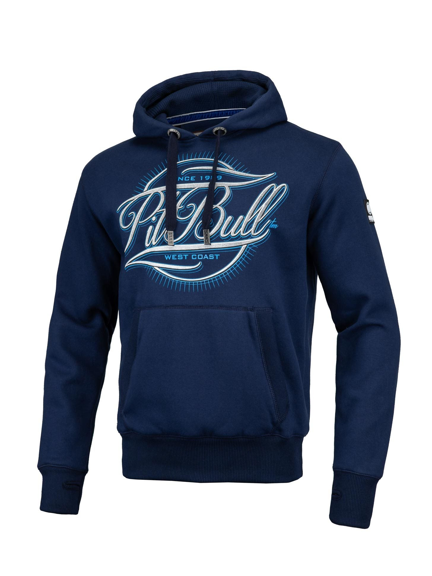 PITBULL IR HOODIE DARK NAVY - pitbullwestcoast