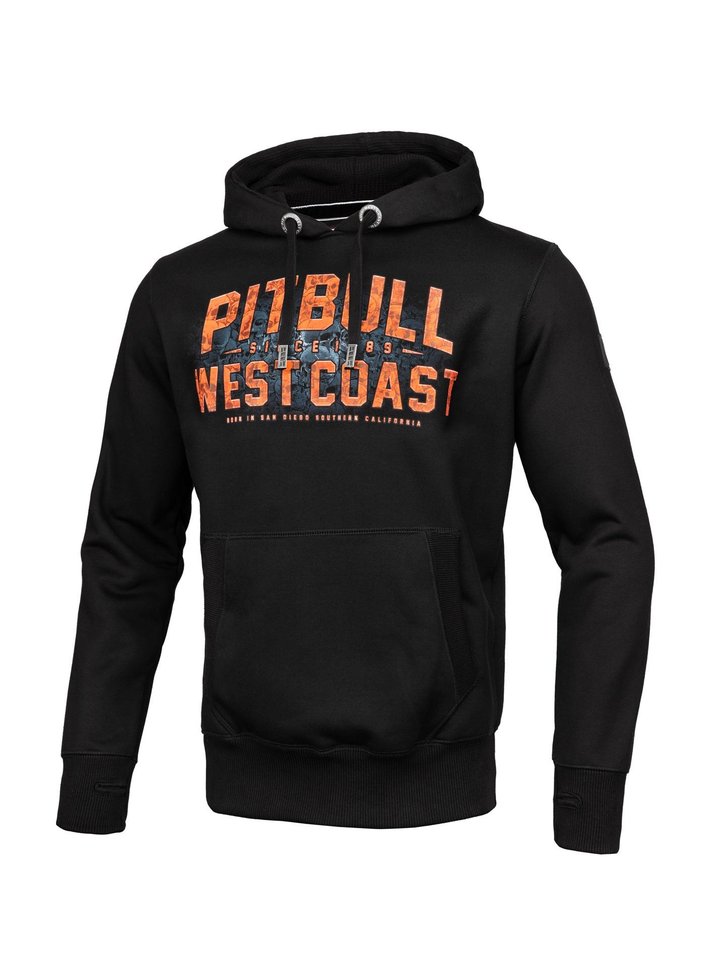 SKULL DOG 2019 HOODIE BLACK - pitbullwestcoast