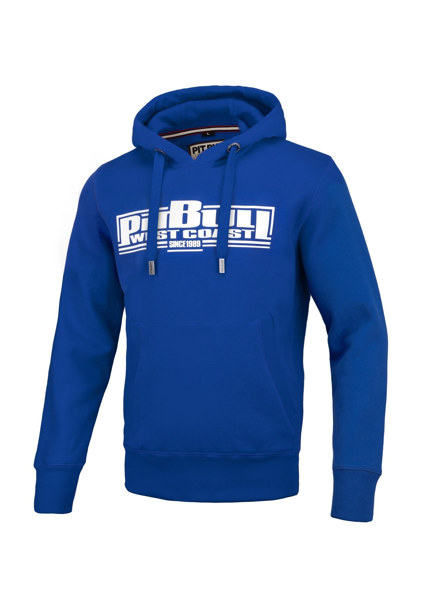 CLASSIC BOXING 19 HOODIE ROYAL BLUE - pitbullwestcoast