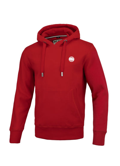 SMALL LOGO 2019 HOODIE RED
