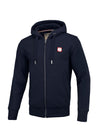HOODED ZIP HILLTOP 2 DARK NAVY - pitbullwestcoast