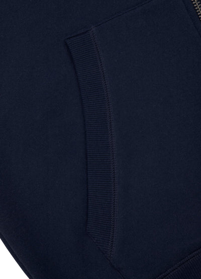HOODED ZIP SLEEVE TNT DARK NAVY