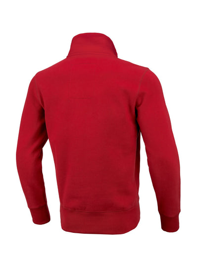 SWEATJACKET SMALL LOGO RED