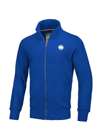 SWEATJACKET SMALL LOGO BLUE