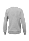 Women OLD LOGO Crewneck Grey MLG - pitbullwestcoast