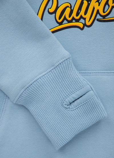 WOMEN HOODIE Surf Dog LIGHT BLUE