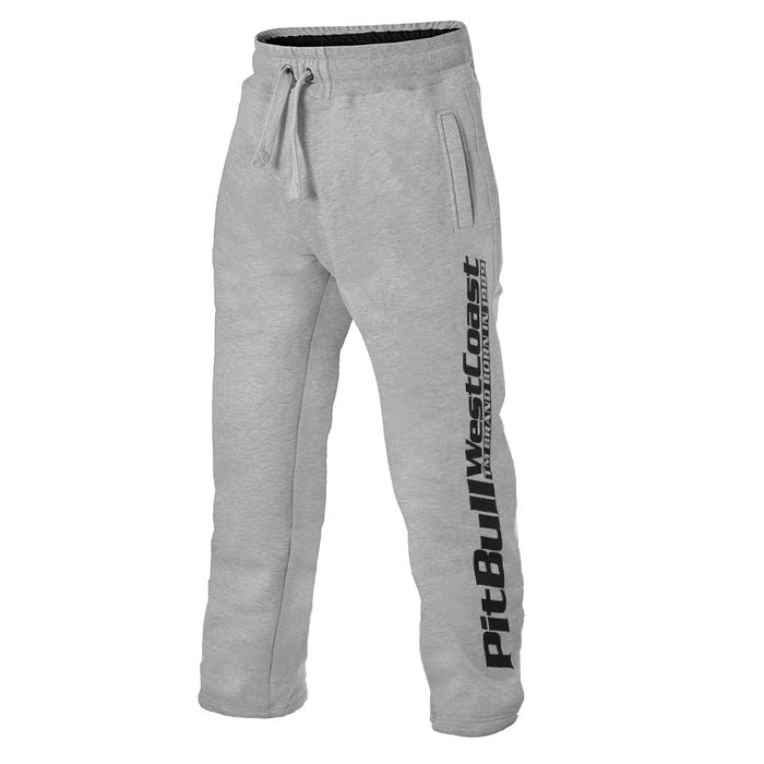 OPEN END Jogging Trousers PitBull Grey - pitbullwestcoast