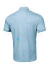 T-shirt POLO SLIM Light Blue - pitbullwestcoast