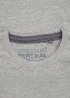 T-shirt NO LOGO Grey Melange - pitbullwestcoast
