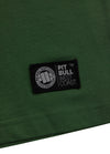T-SHIRT NO LOGO DARK GREEN - pitbullwestcoast