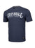 T-Shirt BASIC FAST Navy Melange - pitbullwestcoast