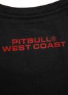 T-Shirt RASTER DOG Black/Red - pitbullwestcoast