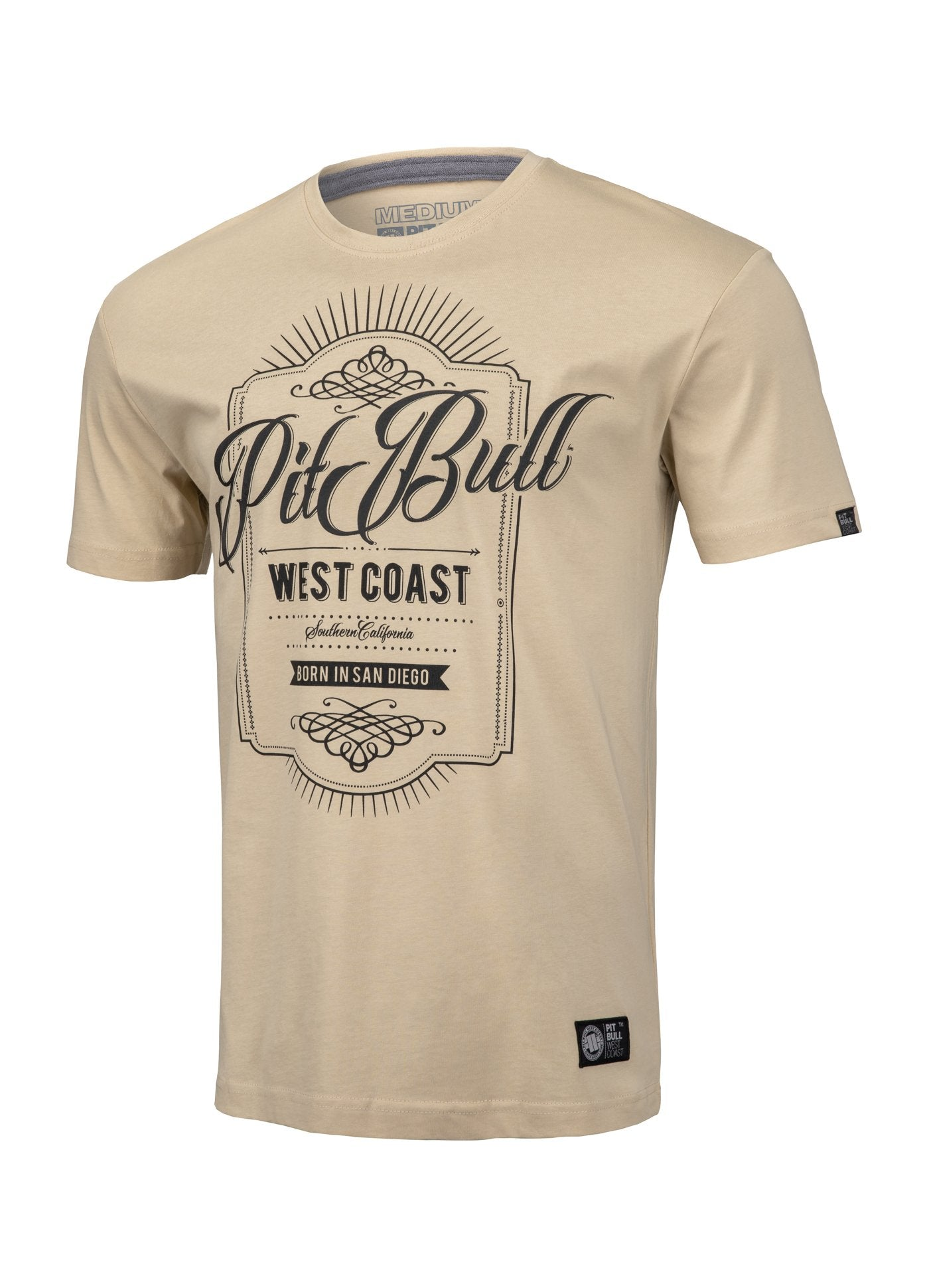 T-shirt BEER Sand - pitbullwestcoast