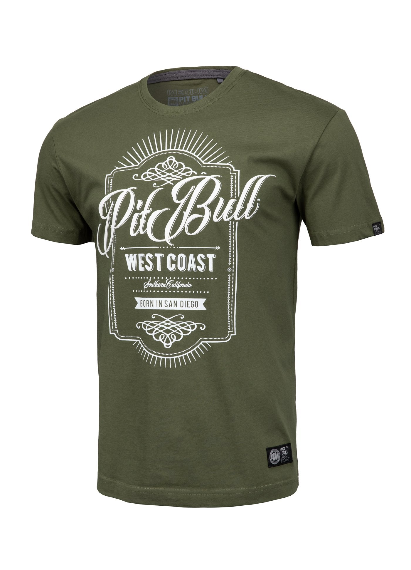T-shirt BEER Olive - pitbullwestcoast