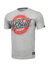 T-shirt STAMP 16 Grey Melange - pitbullwestcoast