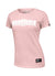 Women's T-shirt BOXING Pink - pitbullwestcoast