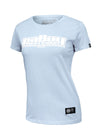 Women's T-shirt BOXING Light Blue - pitbullwestcoast