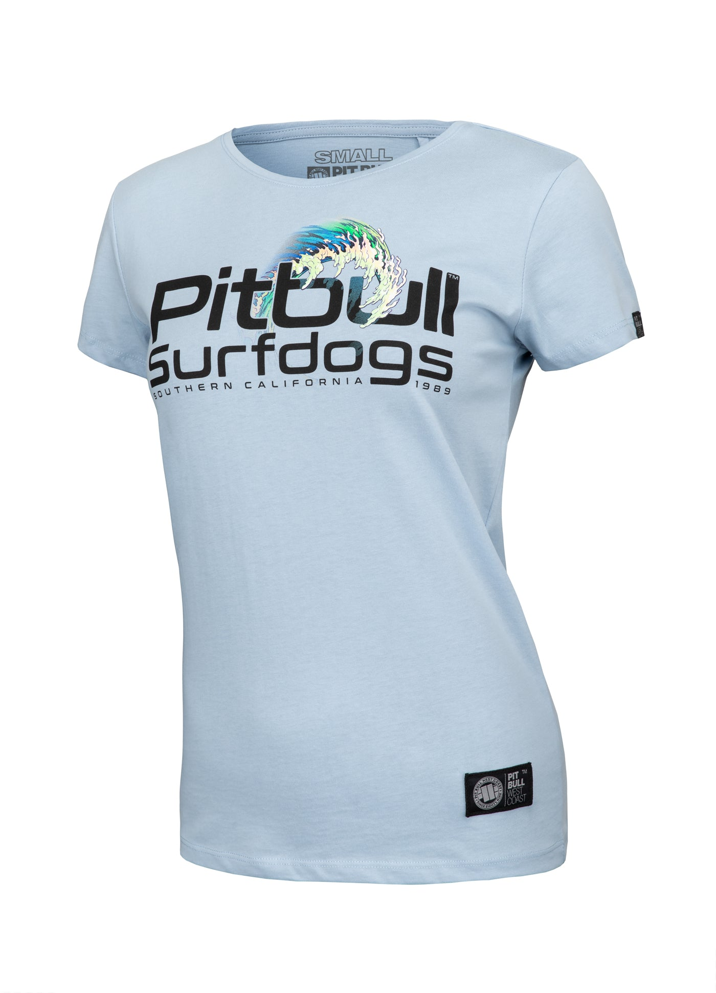 Women's T-shirt CAMINO Light Blue - pitbullwestcoast