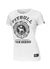 Women's T-shirt lycra UNIVERSITY LOGO White - pitbullwestcoast