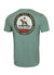 T-shirt Middleweight CALIFORNIA DOG Green - Pitbull West Coast  UK Store