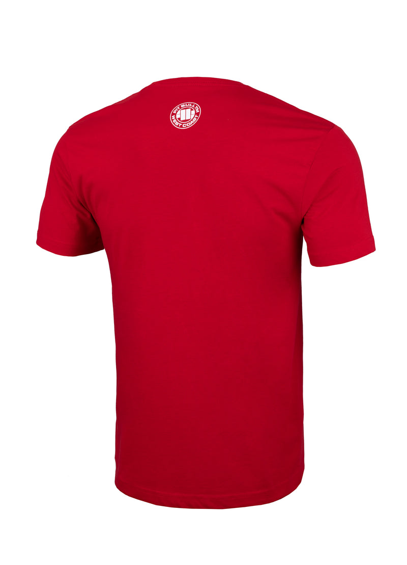 ADCC Abu Dhabi Combat Club T-shirt in red