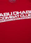 Combat ABU DHABI T-Shirt Red