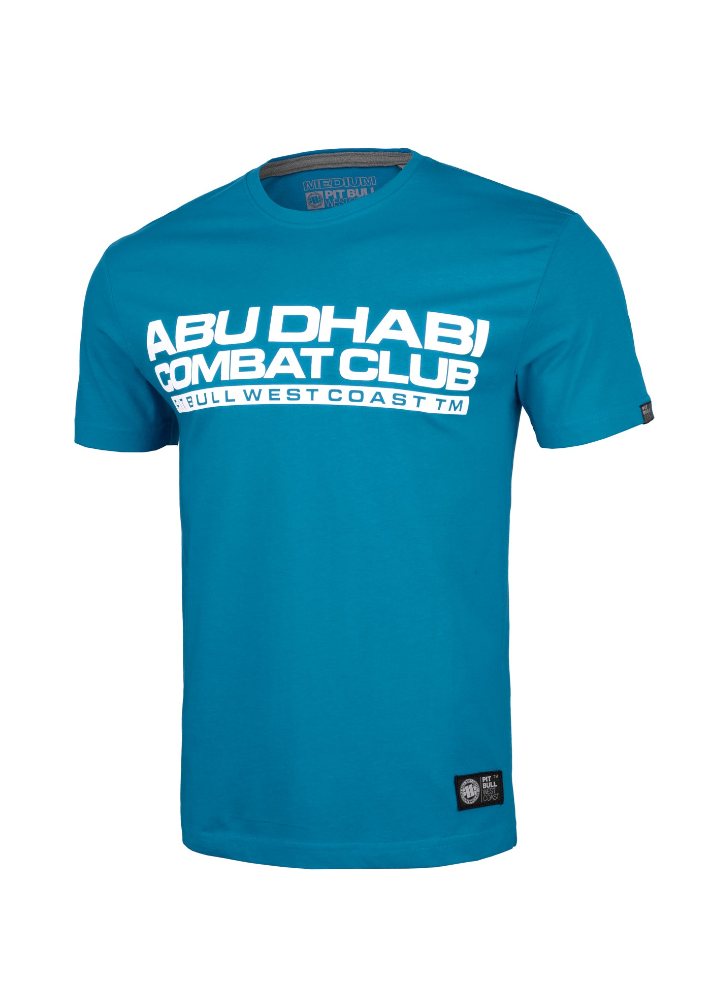 ADCC Abu Dhabi Combat Club T-shirt in turquoise