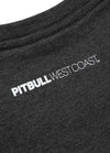 T-Shirt SMALL LOGO Charcoal Melange - pitbullwestcoast