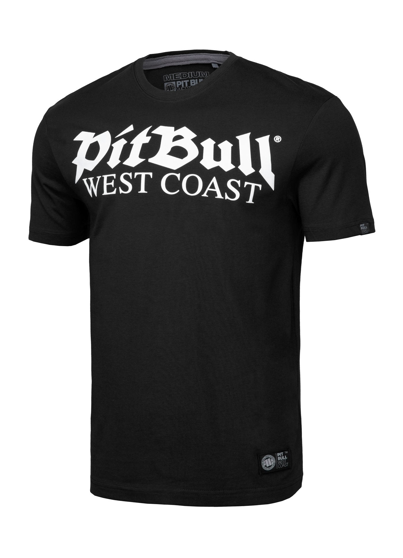 T-shirt OLD LOGO Black - pitbullwestcoast