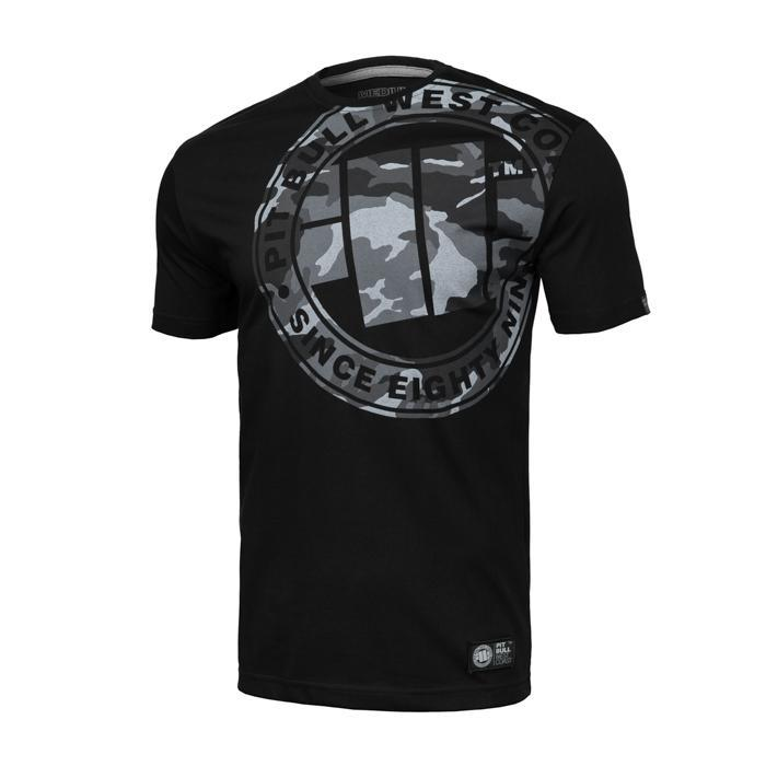 T-SHIRT ALL BLACK CAMO