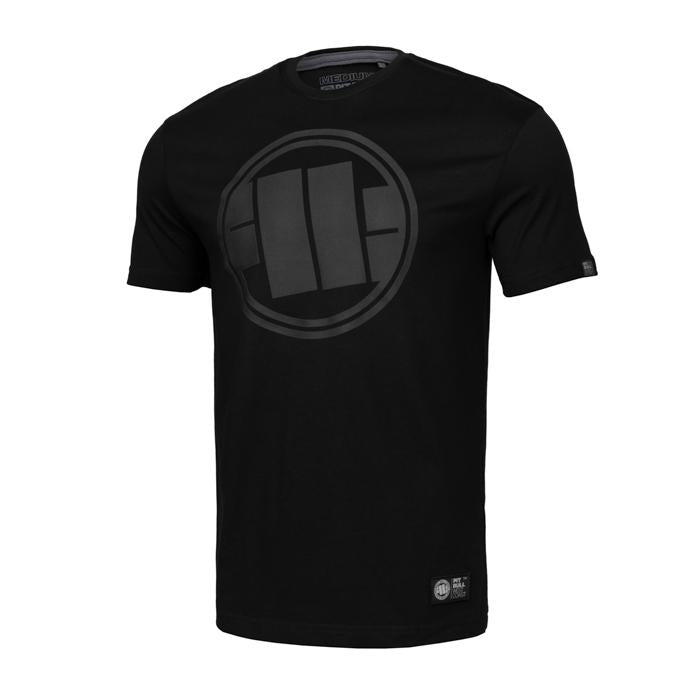 T-shirt ONE TONE LOGO Black - pitbullwestcoast