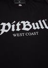 T-shirt Regular Fit Old Logo Black - pitbullwestcoast