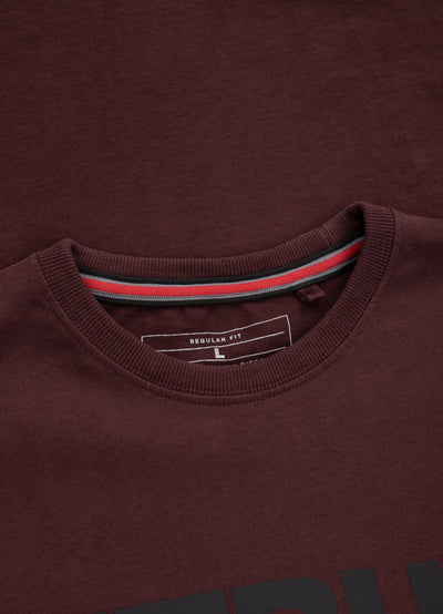 T-shirt Regular Fit TNT Burgundy