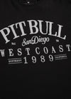T-shirt Regular Fit Oldschool Black - pitbullwestcoast