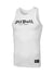 Rib Tank Top Old Logo White - pitbullwestcoast