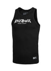Rib Tank Top Old Logo Black