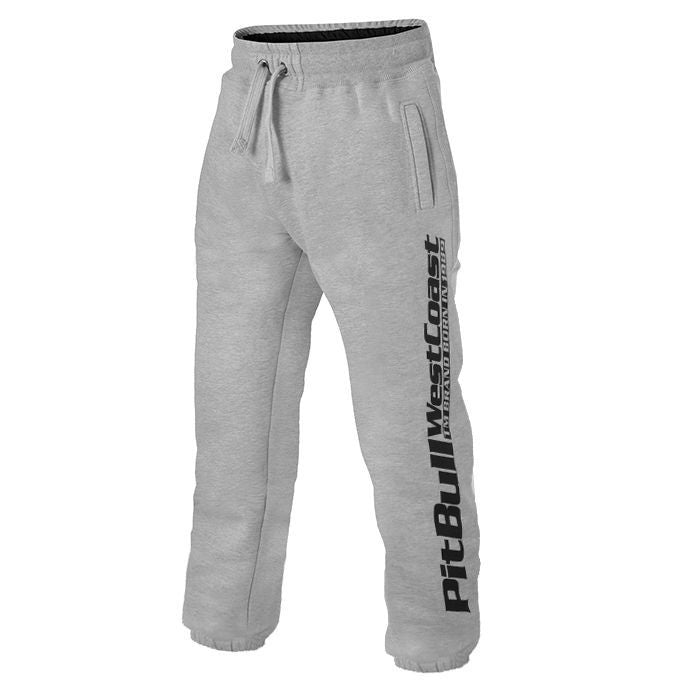 Jogging Trousers Pit Bull Grey - pitbullwestcoast