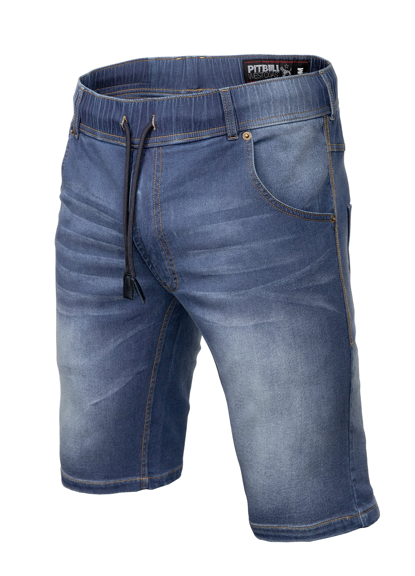 Denim Shorts BENNET Blue - pitbullwestcoast