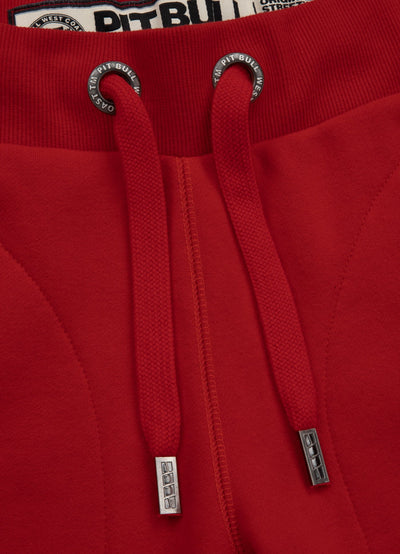 TRACK PANTS SMALL LOGO RED