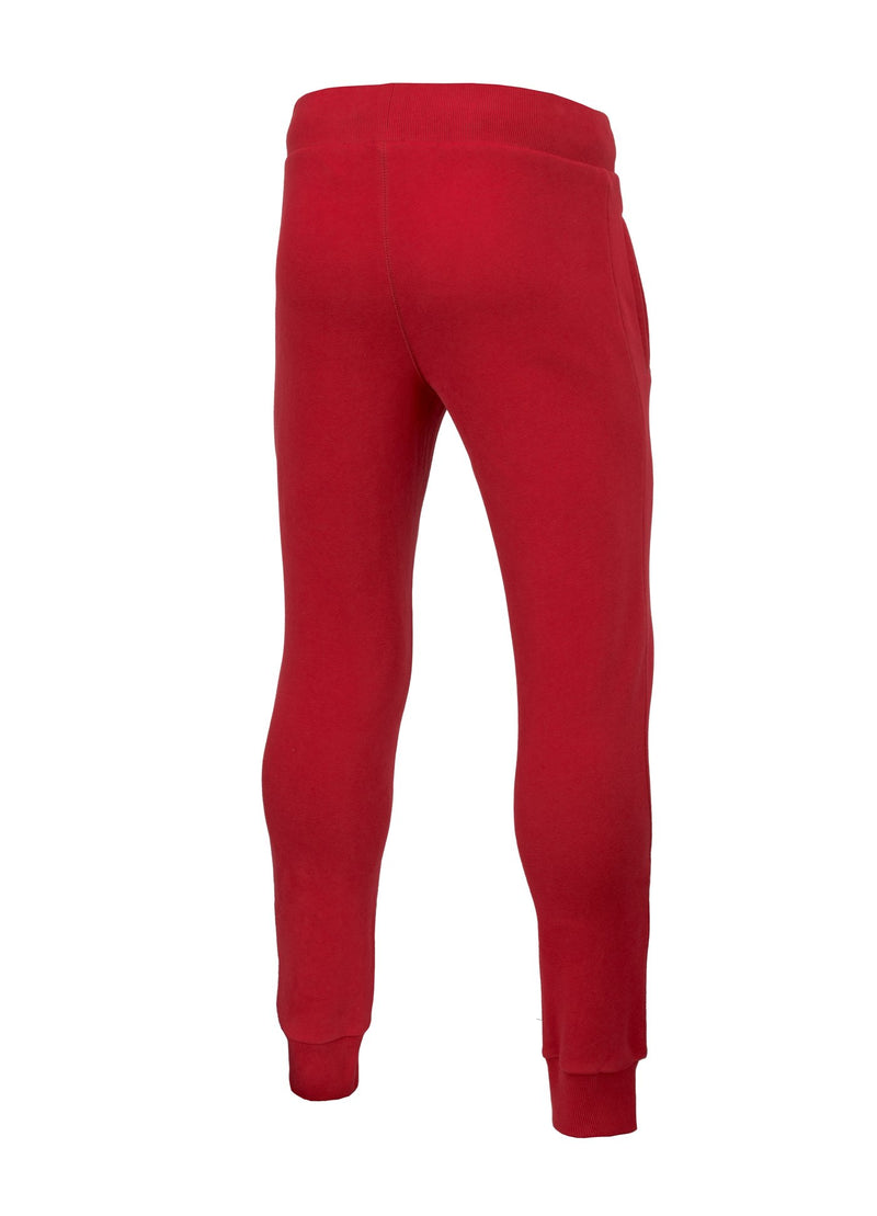 TRACK PANTS MOSS HILLTOP RED - pitbullwestcoast