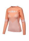 Women Rashguard Long Sleeve JUICY PEACH - pitbullwestcoast