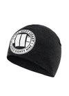 BIG LOGO COMPRESSION BEANIE CHARCOAL MLG