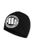 BIG LOGO COMPRESSION BEANIE BLACK - pitbullwestcoast