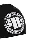 BIG LOGO COMPRESSION BEANIE BLACK