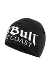 OLD LOGO COMPRESSION BEANIE CHARCOAL MLG - pitbullwestcoast