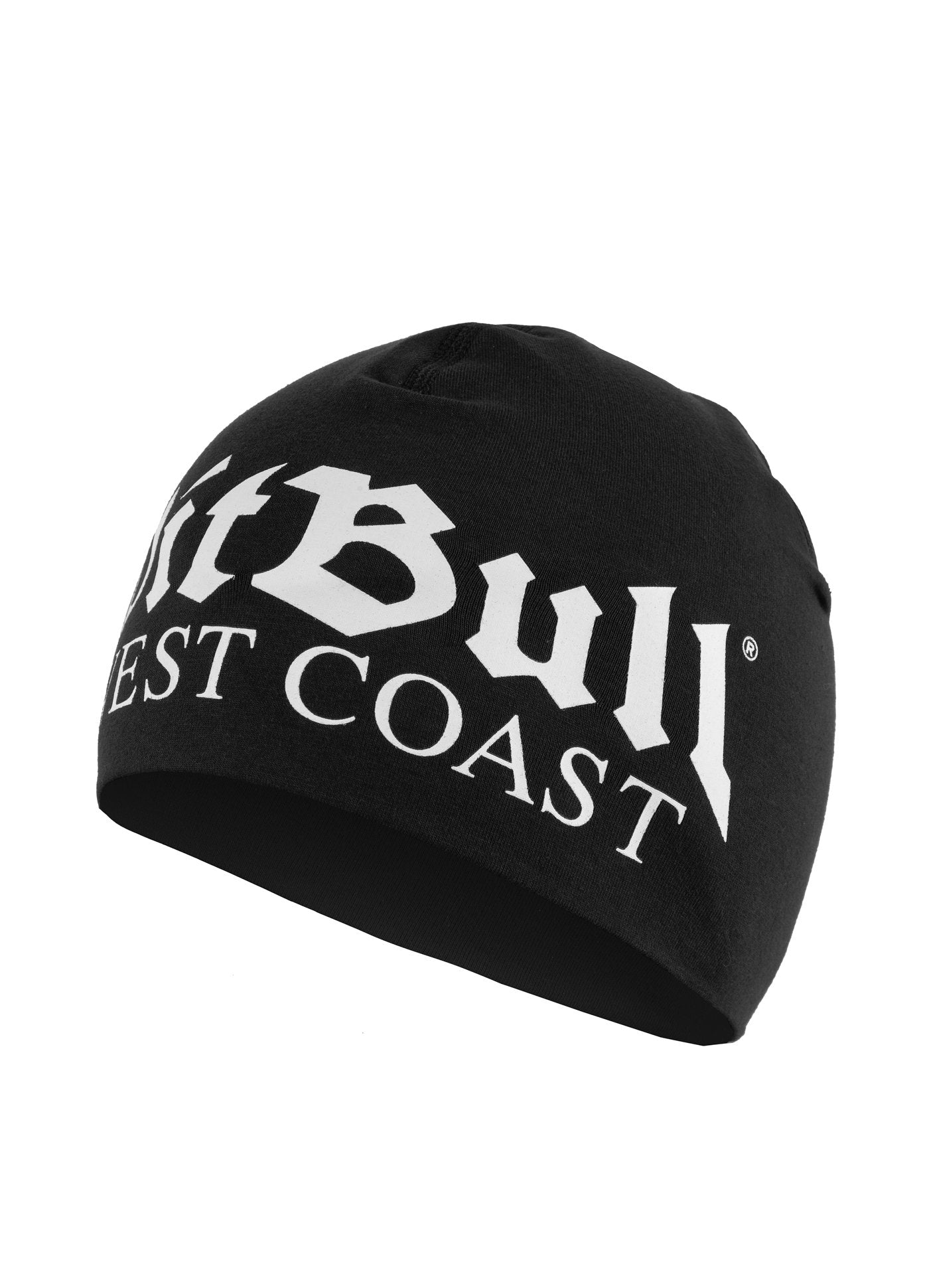OLD LOGO COMPRESSION BEANIE BLACK - pitbullwestcoast